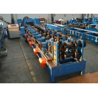 Automatic CZ Purlin Steel Purlin Roll Forming Machine With CW Flange Punching Manufactures