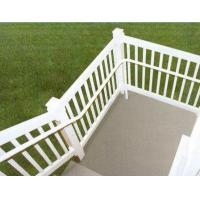 silver Exterior Aluminum Hand Railings with T4 , T5 , T6 Temper Manufactures