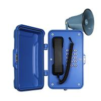 Full Keypad Industrial Weatherproof Telephone Corrosion Resistance 204 * 334 * 126mm Manufactures
