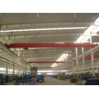 Optional Color Overhead Travelling Crane Q345B Steel For Factory Steel Workshop Manufactures