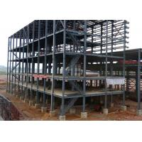 Shockproof Industrial Steel Structures Galvanized ASTM A36 Purlins / Girts Steel Framed Industrial Buildings Manufactures