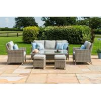 Sofa Dining sets outdoor rattan dining set rattan dining set with ice pot Manufactures