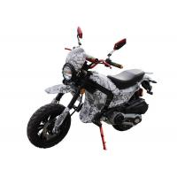 China 125cc / 150cc 4 Stroke Gas Dirt Bikes White Plastic Body Black Alloy Wheel on sale