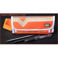 Nylon Fabric Stationery Pencil Case, Customized Logos Are Welcome, for Promotional Manufactures