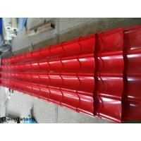 Corrosion Resistance Colour Coated Metal Roofing Sheets Organic Coating Thickness 20-45μM Manufactures