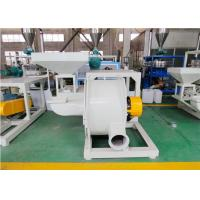 PP Material Powder Crusher Machine , 3700rpm Plastic Recycling Shredder Manufactures