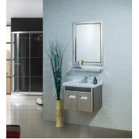 Magnify Square Led Bathroom Mirror Wall Mounted Lighted Makeup Mirror Manufactures