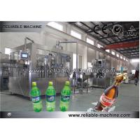 Automatic 3 In1 Pet Bottle Carbonated Drink Filling Machine Manufactures