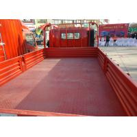 Buy cheap 3 Ton Red Sinotruk Howo Cargo Truck , Light Duty Tipper Truck ZZ1047C2813C145 from wholesalers