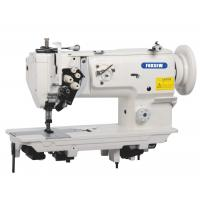 Twin Needle Unison Feed Walking Foot Heavy Duty Leather Sewing Machine with Split Needle Bar Manufactures