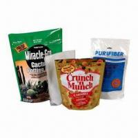 Standup Zipper/Resealable Pouch, Suitable for Pet Food Packaging Manufactures