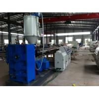 Single Screw Plastic Pipe Extrusion Line / Plastic Pipe Extrusion Machine Manufactures