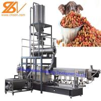 Puffing Snack Dry Kibble Dry Dog Food Making Machine 380v / 50hz Manufactures