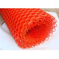 China Colorful Extruded Plastic Mesh Netting Wear Resistance For Chemical / Food Industry on sale