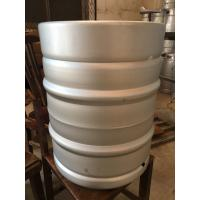 Buy cheap Europe keg 50L capcaity, made of stainless steel 304, with logo emboss, for beer from wholesalers