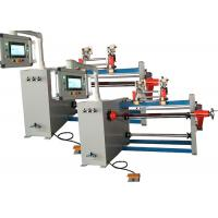 Two Winding Spindle Automatic Coil Winding Machine With 7.5kw Motor Driving Manufactures
