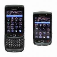 Unlocked Original BlackBerry 9800 Torch, GSM/WCDMA/3G/GPS Mobile Phone with QWERTY Keyboard Manufactures