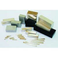 Custom Strongest Industrial Sintered NdFeB Magnets with Block, Ring, Disc Shape grade N52 Manufactures