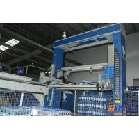 Stainless Steel Automatic Palletizing Machine With SIEMENS Sensor