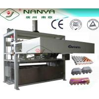 Professional Pulp Molding Egg Tray Making Machine / Equipment 1200Pcs/H Manufactures