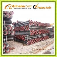 High quality Ductile Iron Pipe ISO2531 & EN545 Manufactures