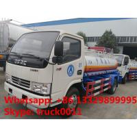 2017s new cheapest price dongfeng 6000L aviation fuel transportation truck for sale, hot sale fuel dispensing truck Manufactures