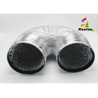 Double Layer Flexible Aluminum Air Duct 150mm For House Ventilation System Manufactures