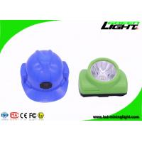 China Msha Approved Cordless Mining Lights , 480mA Miner Hat Light with OLED Screen Explosion Proof Impact Proof on sale