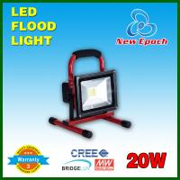 Rechargeable Portable Floodlights 20w Battery Powered LED Flood Lights Manufactures