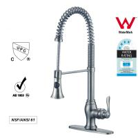 Sanitary Ware Singe Handle kitchen Faucet with Pull out Tap ODM / OEM Manufactures