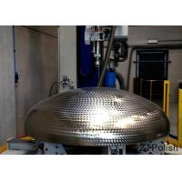Mirror Polished Metal Buffing Machine Size 4000x3200x1800mm Full Automatic Control Manufactures