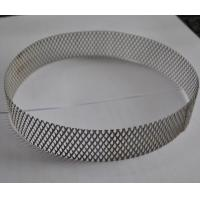 304 Stainless Steel Wire Expanded Mesh Circle As Filter , Metal Mesh Type Manufactures