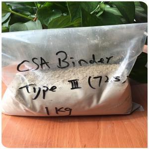 china supplier factory cement csa binder csa cement clinker 62.5-92.5