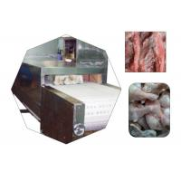 Continuous Frozen Meat Microwave Thawing Machine Manufactures
