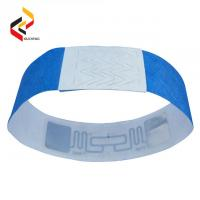 Disposable RFID Paper Bracelet One Time Used Band/Soft dupont tyvek NFC Wristband Manufactures