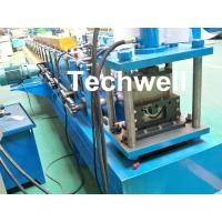 Customized Half Round Gutter Roll Forming Machine For Making Rainwater Gutter & Box Gutter Manufactures