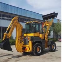 China 2.5 Tons Caterpillar Backhoe Loader 1.0M3 Loading Bucket Capacity on sale