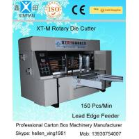 China High Precision Rotary Die-Cutting Machine , Carton Packaging Machinery 1200×1800mm on sale