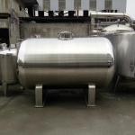 20000L Big Volume Horizontal Type 304 Stainless steel Storage Tank For Milk Palm Oil Etc Liquid Manufactures