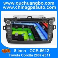 Toyota Corolla autoradio 2007-2011 with touch screen gps navigation wifi audio player OCB-8612 Manufactures