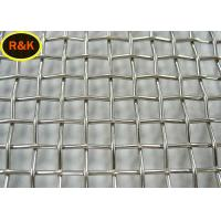 Stainless Steel Woven Crimped Wire Mesh Heavy Duty Fabrication 304 Material Manufactures