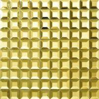 12x12 Mirror Metallic Mosaic Tiles Stainless Steel Mosaics For Bar / Hallway Manufactures