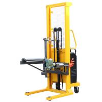 Electric Drum Lift 1.6m Lifting Height Gripper Type with 500Kg Load Manufactures