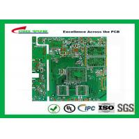 PCB Fabrication 6L OSP Electronic PWB with Impedance Control 1.6mm Manufactures