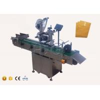 China Auto envelope industrial label applicator for small scale production paper box labeling on sale