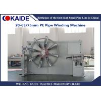 Fast Speed Pipe Coiler Machine , Plastic Pipe Coiling Machine Simple Operation Manufactures