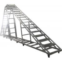 Splice / Burliness Aluminum Walking Stair , Portable Stage Platform For Art House Manufactures