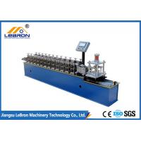Galvanized Steel Rolling Shutter Slats Roll Forming Machine 3 KW Hydraulic Power Manufactures