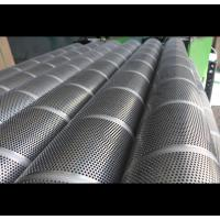 China Durable Perforated Stainless Steel Cylinder , Hole 1mm- 50mm Perforated Metal Tube on sale
