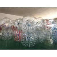 China 1.2m / 1.5m / 1.7m Diameter Human Inflatable Bumper Bubble Ball Inflatable Kids Toys on sale